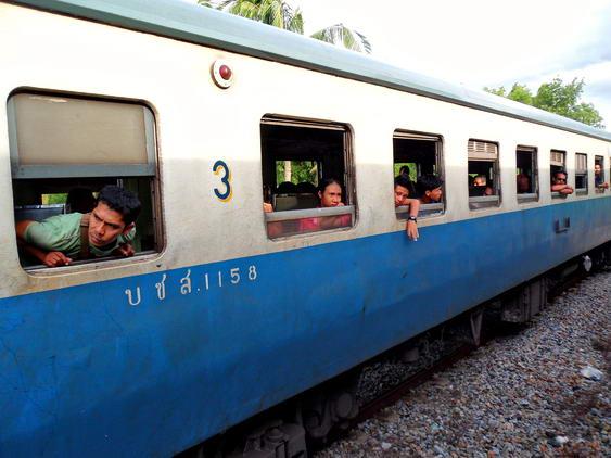Hua Hin to Bangkok Train Stop