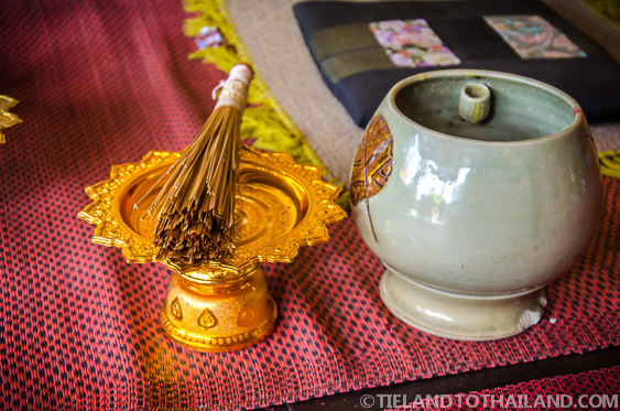 Buddhist Holy Water for Blessings