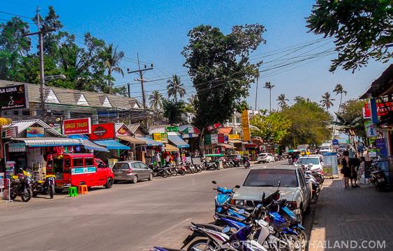 Downtown Strip of Ao Nang