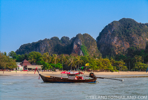 View of Railay West from the sea