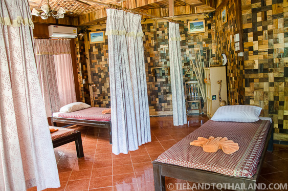 Massage and Spa Area