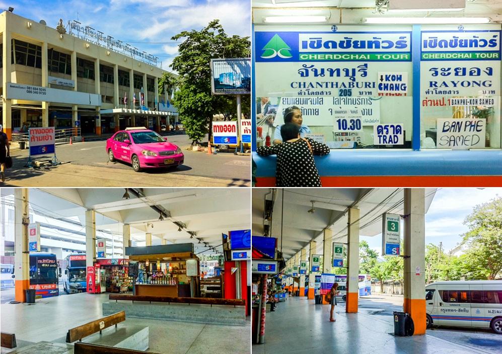 Chiang Mai to Koh Chang to via Bangkok (Eastern) Bus Station