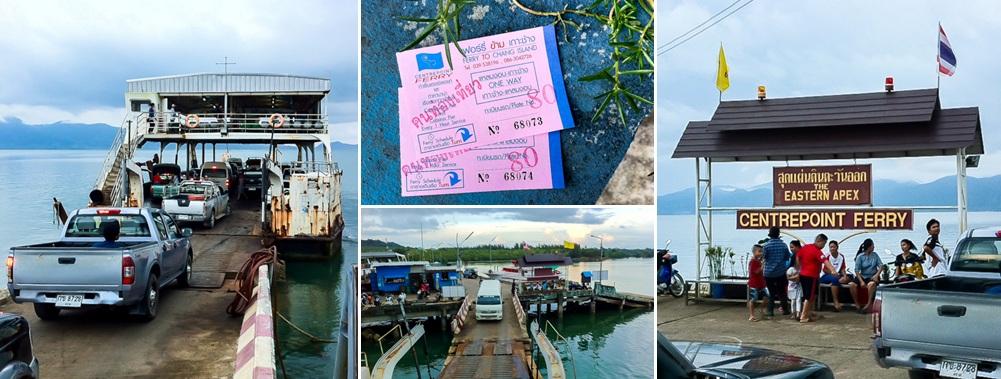 Center Point Pier in Trat, Thailand