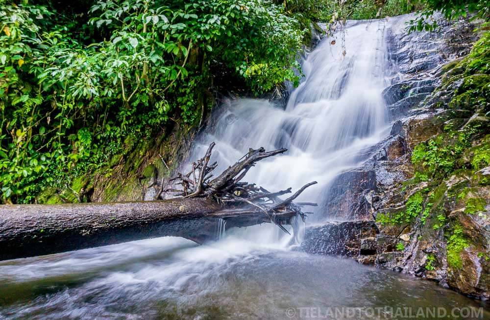 One of the sites to see during a trip to Doi Inthanon is the Suriphum Waterfall