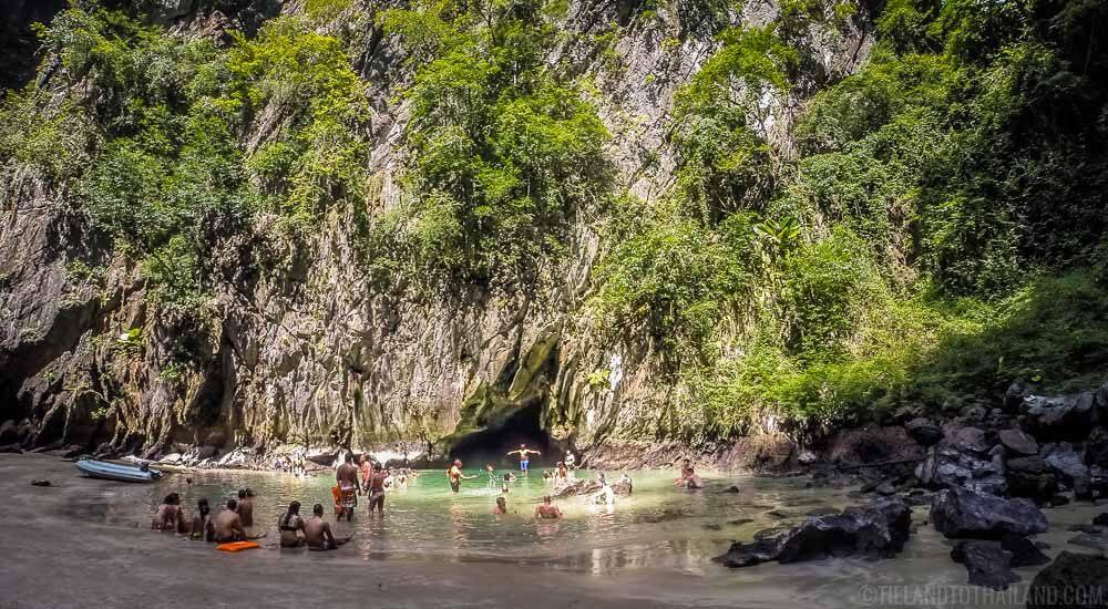 Emerald Cave at Koh Muk, Thailand