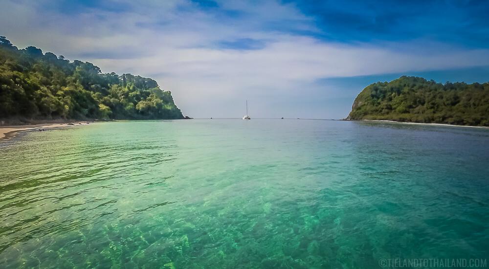 Koh Lanta Snorkeling - best spot is off of Koh Rok