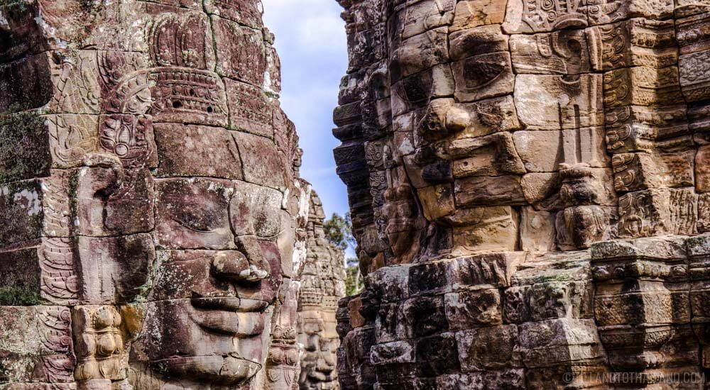 One or Three Day Trip to Siem Reap includes Banyon Temple