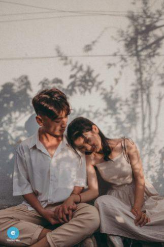 chụp ảnh cặp đôi dễ thương