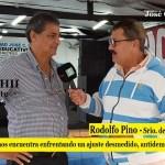 """RODOLFO PINO: """"ESTE 1º DE MAYO NOS ENCONTRÓ ENFRENTADO EL AJUSTE DEL PRESIDENTE MACRI"""""""