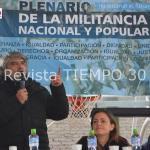 MULTITUDINARIO PLENARIO DE UNIDAD CIUDADANA DONDE SE RATIFICÓ EL LIDERAZGO DE CRISTINA
