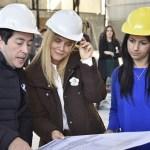 NARDINI Y MAGARIO JUNTOS INAUGURARON OBRAS EN MALVINAS ARGENTINAS