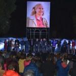 GUSTAVO MENÉNDEZ, EDILES, AUTORIDADES MUNICIPALES Y EL PUEBLO DE MERLO RINDIERON UN SENTIDO HOMENAJE A EVA PERÓN