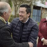 LEO NARDINI MONITOREÓ LA OBRA DE LA CALLE JOSÉ MARTI | Recibió nuevamente el reconocimiento de los vecinos