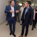 "LEO NARDINI RECORRIÓ LAS OBRAS DEL HOSPITAL DE TRAUMA DE MALVINAS | ""Reafirmó la política solidaria que caracteriza a la gestión"""