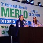 MÁS FIGURAS RECORRIERON LA FERIA DEL LIBRO DE MERLO | Con entrada libre y gratuita del 2 al 13 de octubre en el Parque Municipal Néstor Kirchner