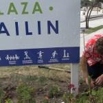 VECINOS DE LA PLAZA MAILÍN LA EMBELLECEN CON ÁRBOLES Y PLANTAS | Uno de los espacios recuperados en Malvinas Argentinas durante el primer mandato del Intendente Leo Nardini