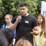 CLÍNICA DE ATLETISMO EN MALVINAS ARGENTINAS | Participaron atletas de renombre