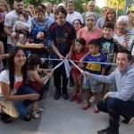 LEO NARDINI CORTÓ CINTA POR PARTIDA DOBLE EN ING. ADOLFO SOURDEAUX | Plaza San Martín y la Nueva Posta de Protección Ciudadana
