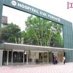Gustavo Menéndez supervisó las obras del Hospital Eva Perón que se acondiciona para enfrentar el Covid-19