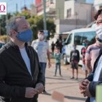 La Matanza | Sabbatella y Espinoza estuvieron en el operativo de detección y prevención de COVID-19