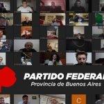 """""""Se lanzó el Partido Federal en la provincia de Buenos Aires"""""""