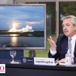 """Fernández, tras el lanzamiento del SAOCOM 1: """"la riqueza de la sociedad está dada en el desarrollo de educación, ciencia y tecnología"""""""