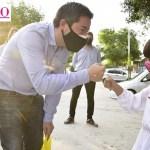 """Leo Nardini inauguró pavimento de las calles Payró y Olazábal en Los Polvorines: """"Malvinas Argentinas es un distrito pujante que le pone mucho corazón"""""""