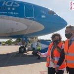 """Ministra Vizzotti: """"está en camino a China un vuelo de nuestra línea de bandera para traer 1.000.000 de dosis"""" contra el coronavirus"""