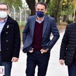 Leo Nardini acompañado de autoridades provinciales y nacionales a toda obra para bienestar de la familia de Malvinas Argentinas