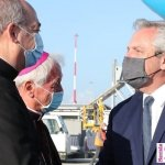 El Presidente Fernández llegó a Roma y este jueves se reúne con el Papa Francisco