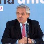 El presidente Fernández encabezó el acto de conmemoración del Día de la Afirmación de los Derechos Argentinos sobre Malvinas