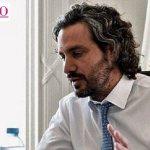 """Santiago Cafiero: """"Este es un Gobierno al que no lo define una frase, lo definen los hechos"""""""