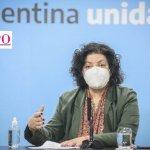 """Ministra Vizzotti sobre las vacunas contra el coronavirus: """"Ninguna dosis de ninguna vacuna vence"""""""