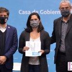 """Kicillof y Ferraresi entregaron créditos """"Casa Propia"""" para la construcción de viviendas"""