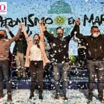 Gustavo Menéndez con un emotivo y vibrante discurso cerró la campaña del Frente de Todos de Merlo