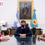 El gobernador Kicillof toma juramento este martes a los nuevos ministros bonaerenses