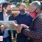 El ministro Nardini junto al intendente Gray entregaron 425 escrituras en Esteban Echeverría