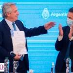 El Presidente Fernández y nueve ministros realizaron una visita a Chubut para una reunión del gabinete federal