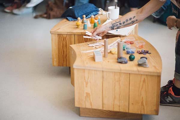 juguetes de madera material no estructurado