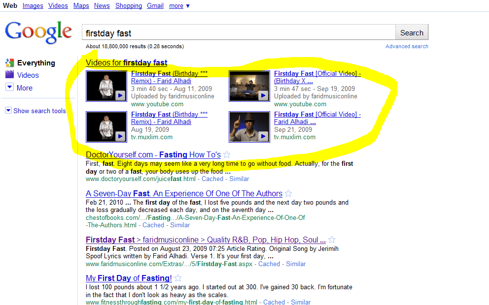 google-video-results