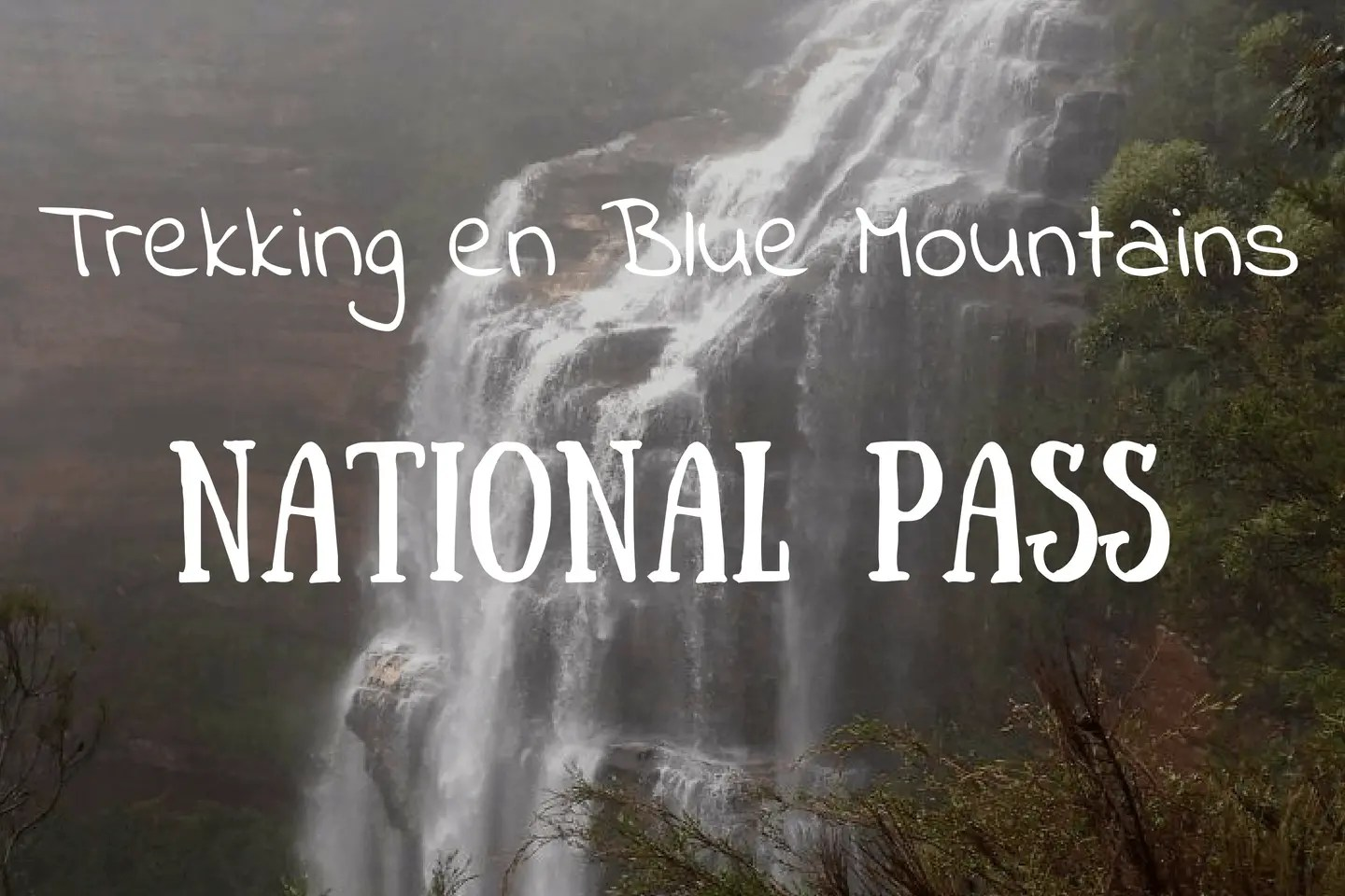 Trekking Blue Mountains National Pass