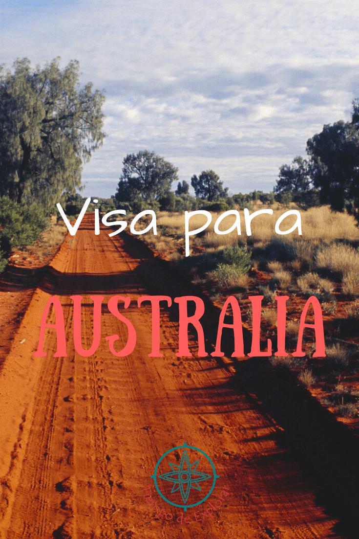 Visa para Australia Pinterest