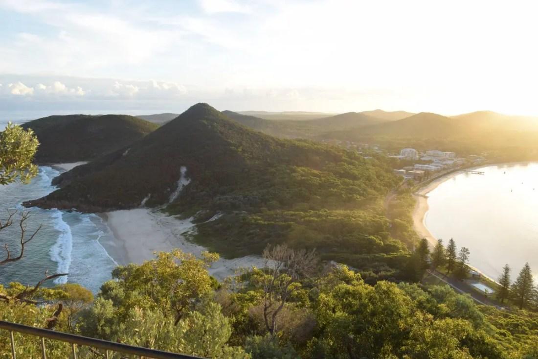 Tomaree Mountain Mirador nsw Australia