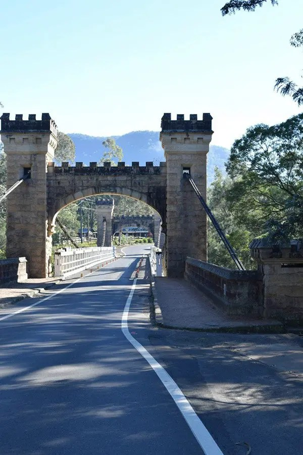 Puente Hampden Kangaroo Valley, NSW, Australia