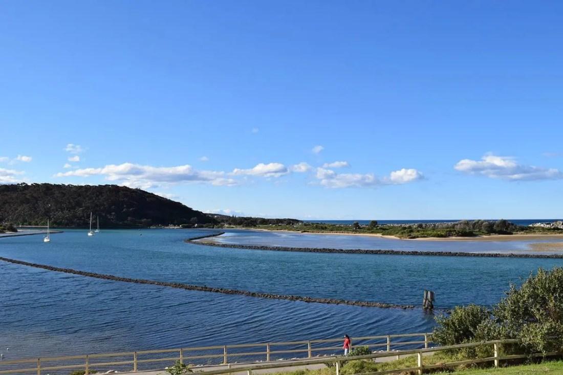 Narooma, region de Eurobodalla, costa sur de NSW, Australia @Tiempodexplorar