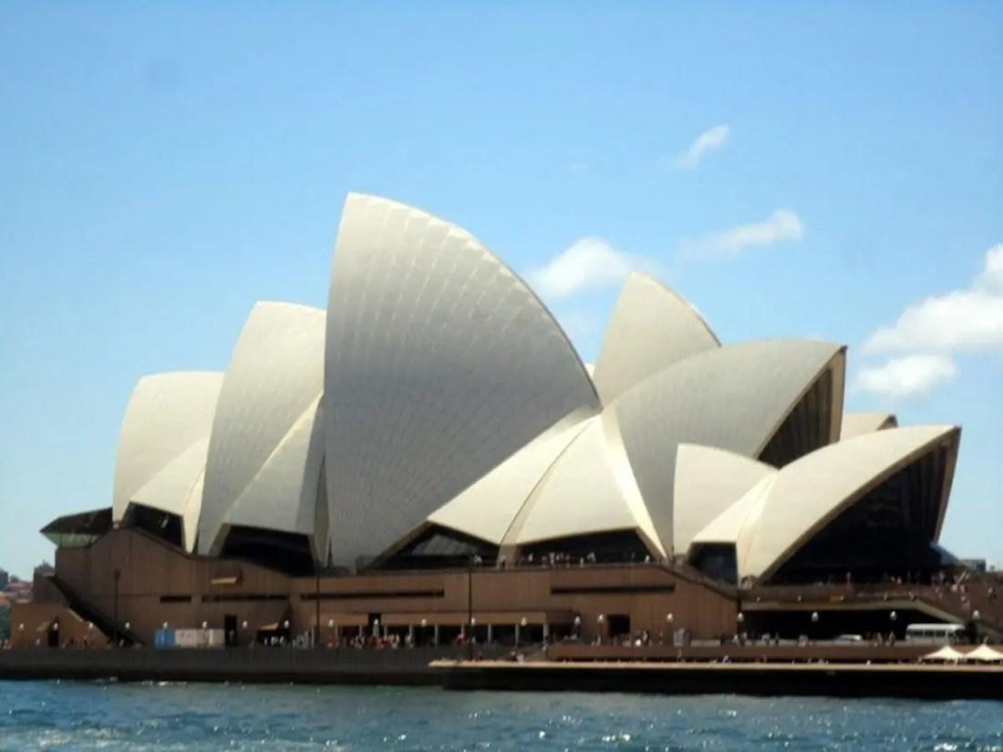 Opera House, Lugares para visitar en Sydney Australia.