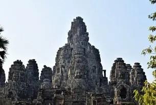 Templo Bayón Camboya viajar al sudeste asiático