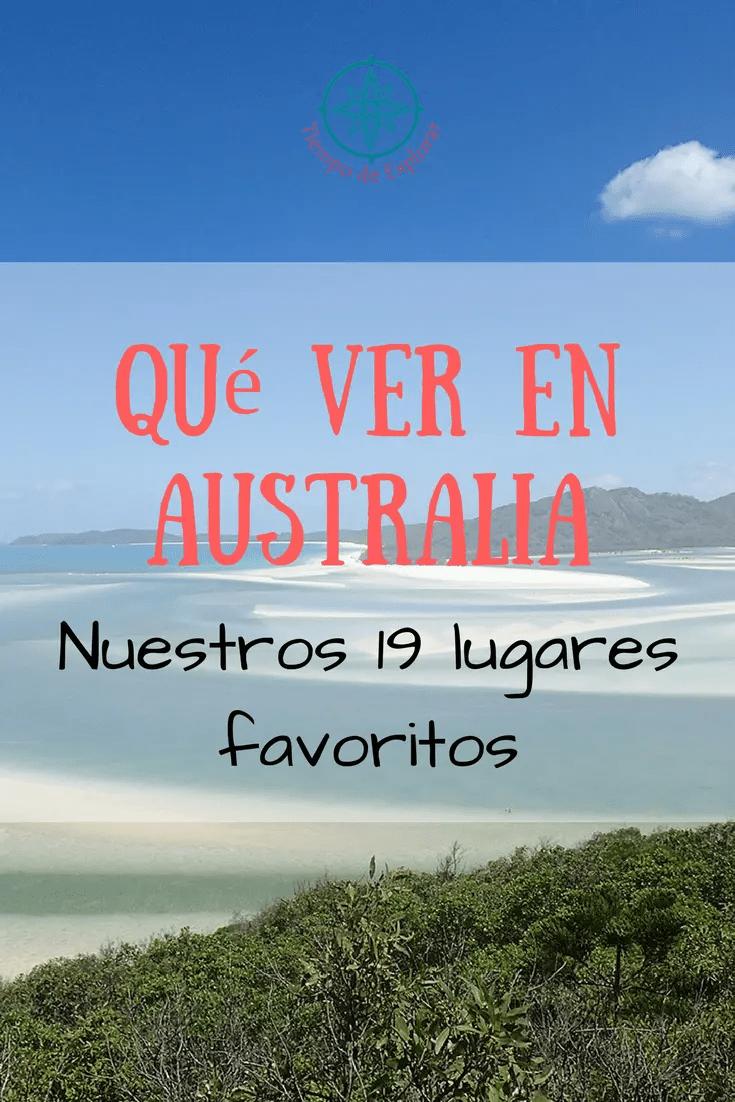 Pinea Qué ver en Australia. Los 19 lugares más detacados