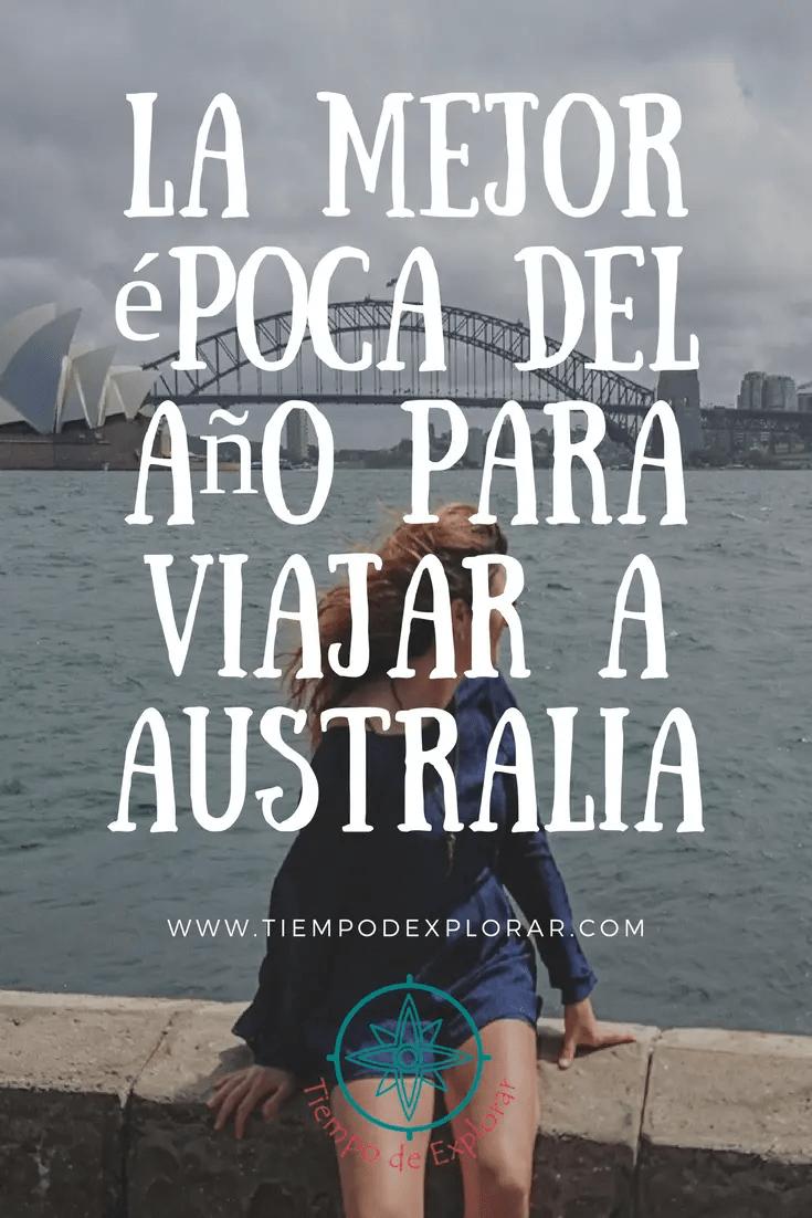 Pinterest, la mejor epoca del año para viajar a Australia