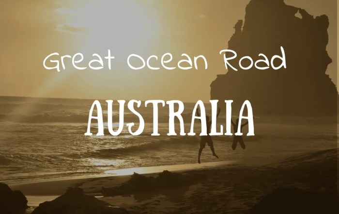 Ruta Great Ocean Road Australia